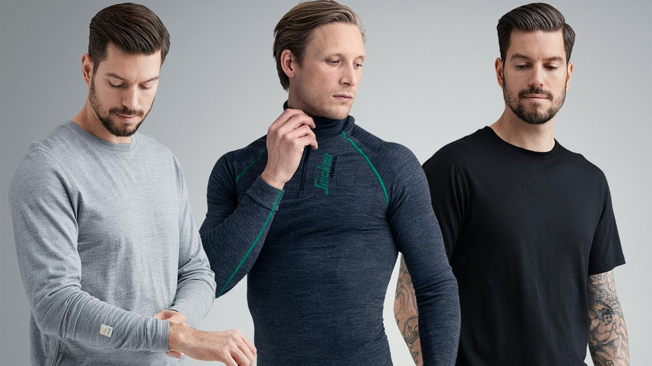 Extension of Merino Wool undergarment range from Snickers image