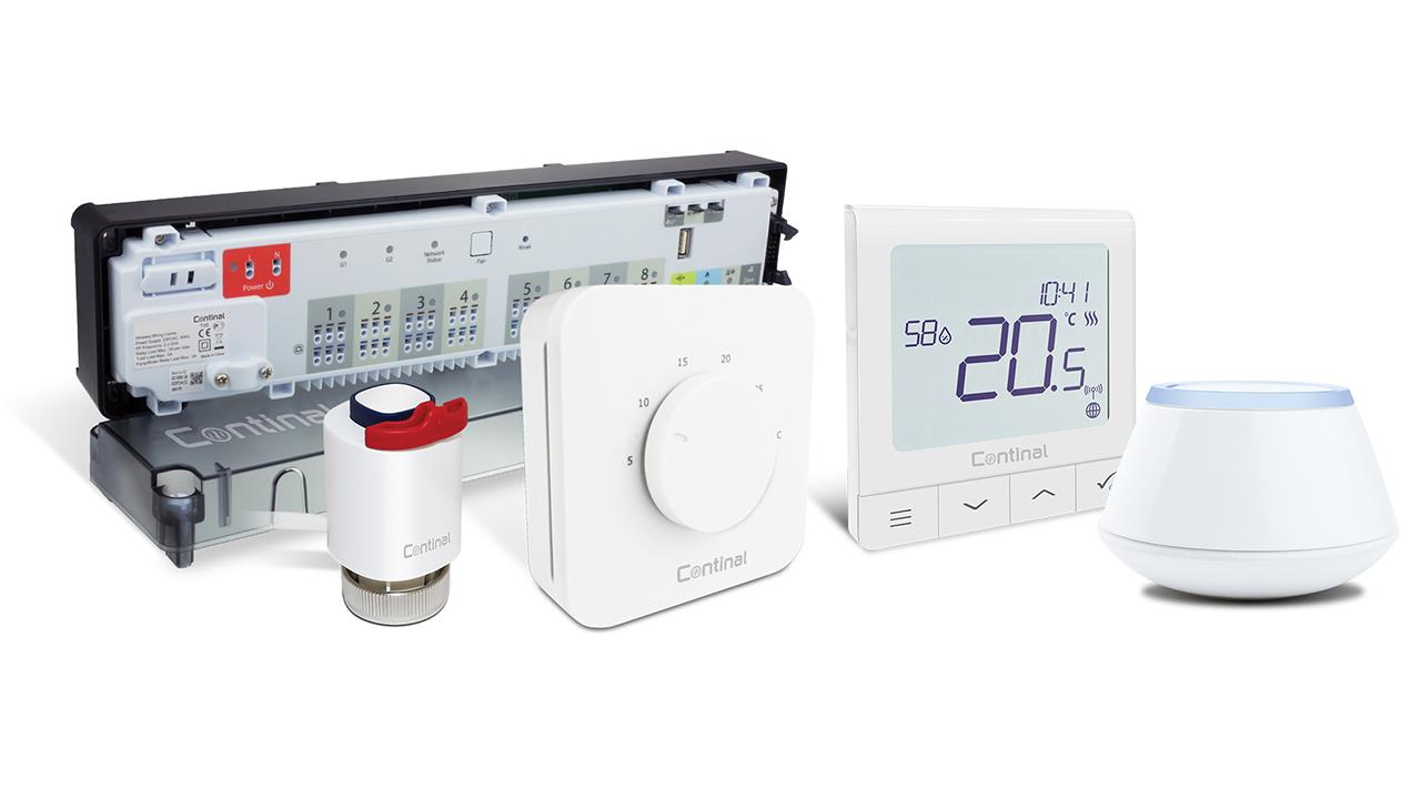 Next generation of heating controls from Continal image