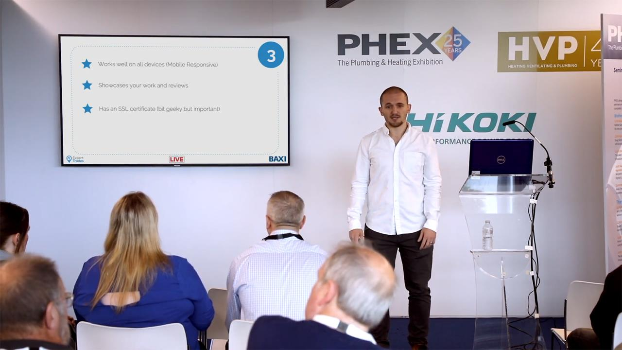 Seven marketing tips to grow your business - PHEX Tottenham 2019 Seminar image