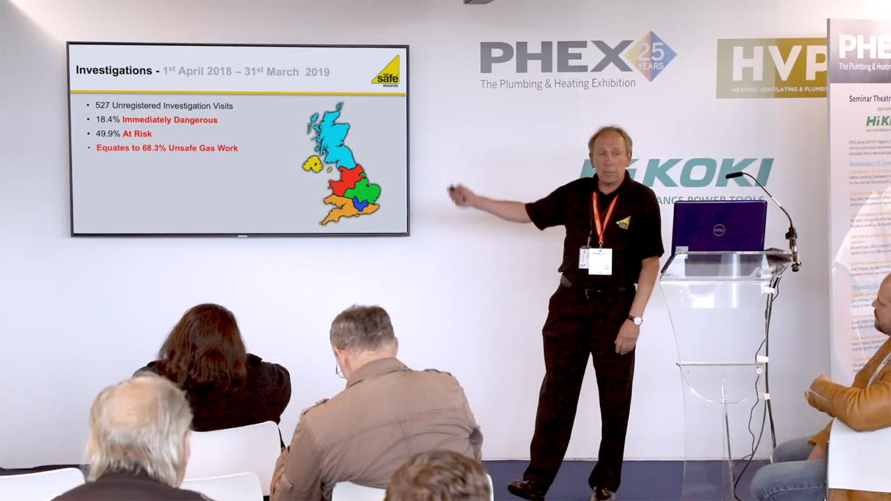 Vital updates from the Gas Safe Register - PHEX Tottenham 2019 Seminar image