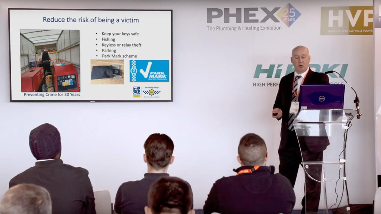 Reducing the risk of van crime with Secured by Design - PHEX Tottenham 2019 Seminar image