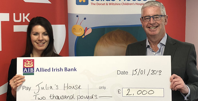 Grant UK donates £2,000 to local children's charity image