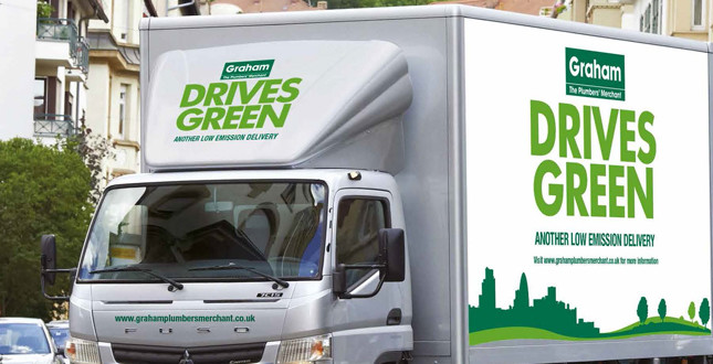 Graham Plumbers' Merchant to trial hybrid delivery vehicles image