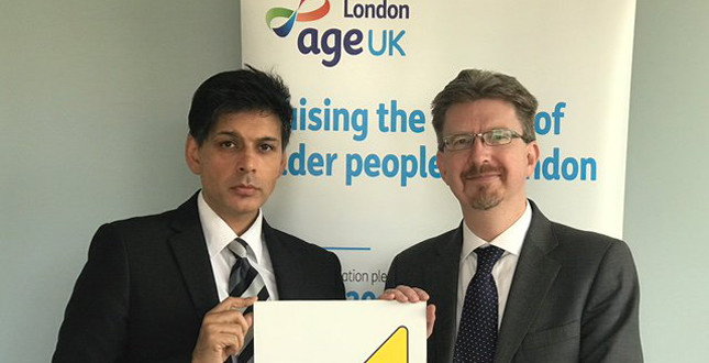 Gas Safe Register partners with AGE UK London to raise gas safety awareness among the elderly image