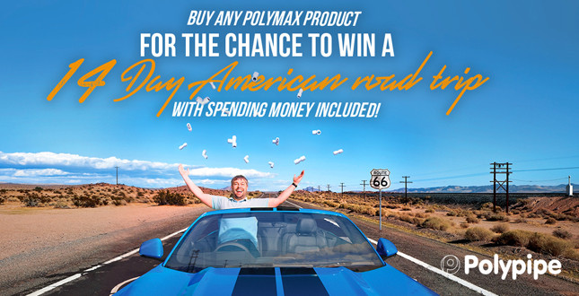 Polypipe launches new Polymax competition image