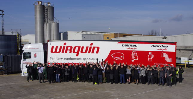 Win with Wirquin's 'spot the lorry' competition image