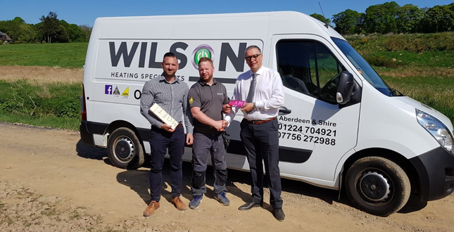 Installer wins trip to Florida with Ideal Boilers' Premier Club image