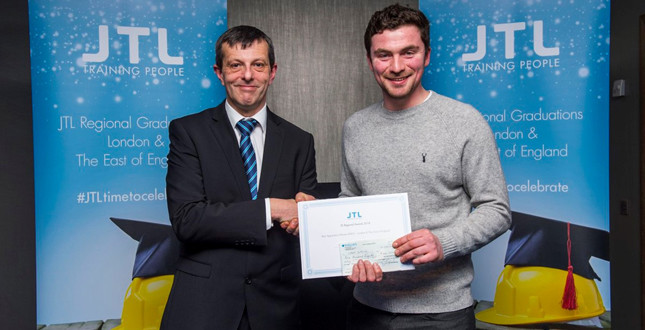 J S Wright apprentice wins top award image