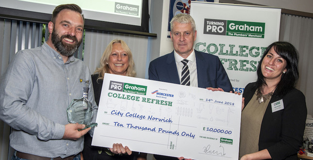 City College Norwich wins £10,000 Graham College Refresh Award image