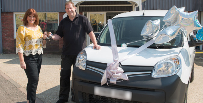 Plumber wins new van in Aqualisa competition image