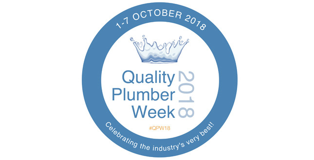 APHC asks industry to get behind Quality Plumber Week 2018 image