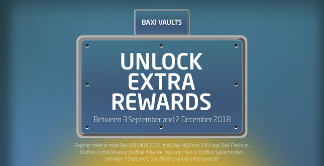 Baxi brings back Vaults promotion image