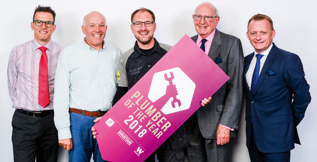 UK Plumber of the Year 2018 announced image