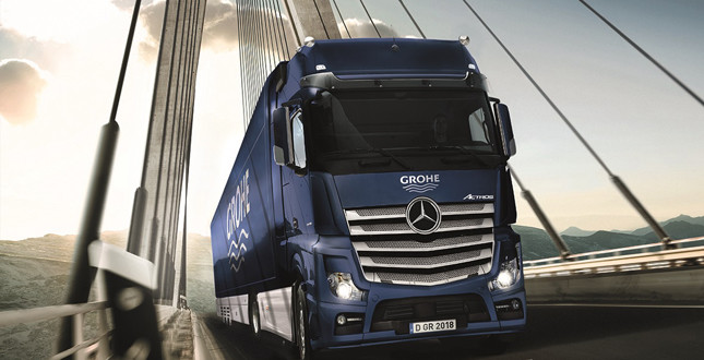 GROHE XXL Truck returns to UK for autumn tour  image