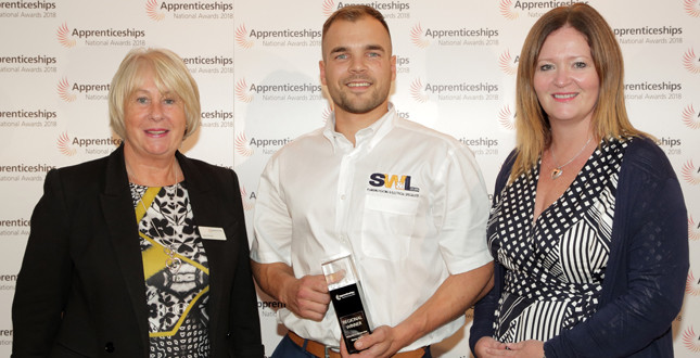 Plumbing apprentice crowned 'Rising Star' at regional awards image