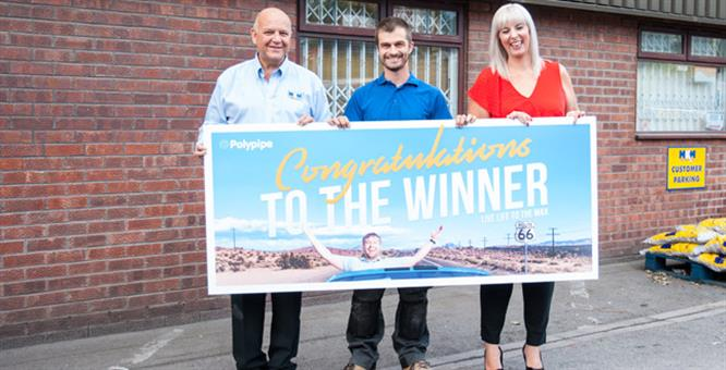 Sheffield plumber announced as Polymax competition winner image