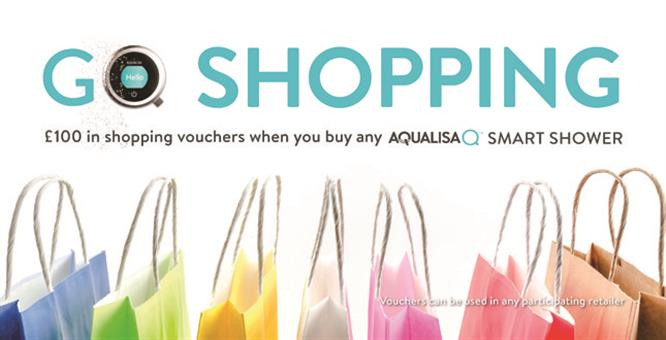 Aqualisa launches £100 voucher offer image