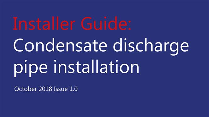 HHIC launches condensate guides for installers and consumers image