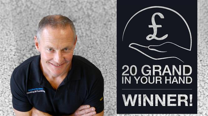 JG Speedfit announces '20 Grand In Your Hand' prize winner  image
