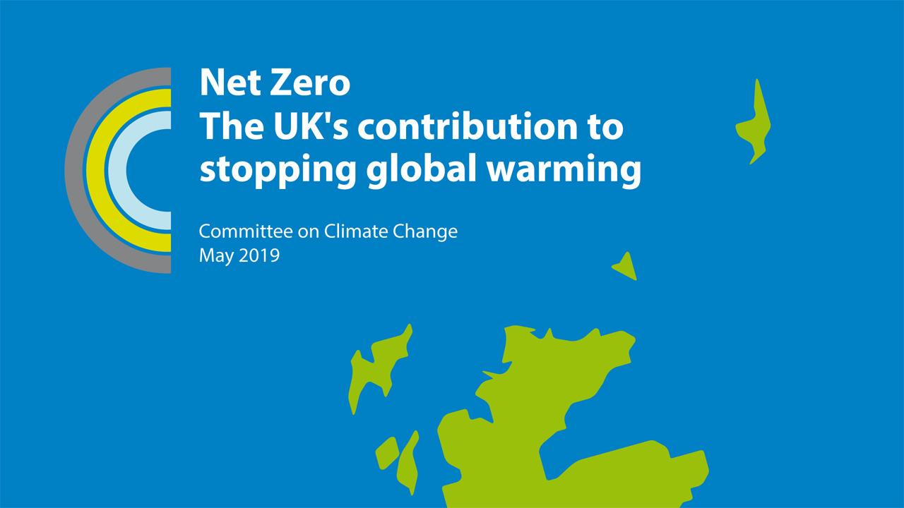 CCC report calls for 'net zero' greenhouse gas emissions by 2050 image