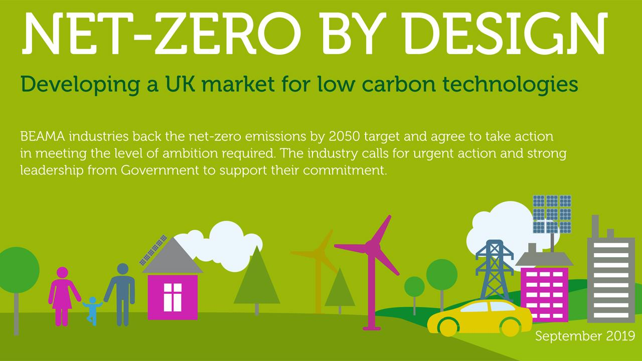 New BEAMA report calls for action on net-zero emissions image