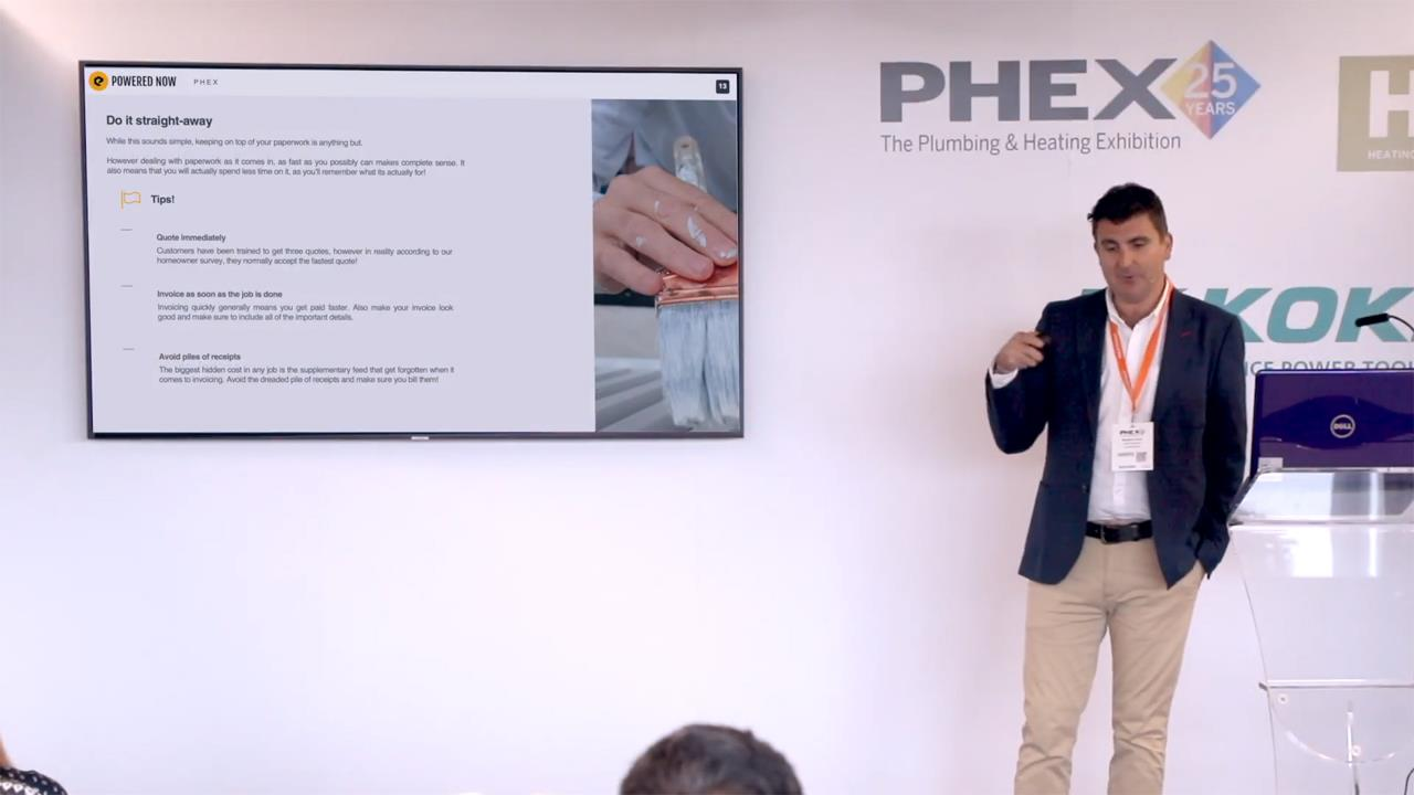 Complying with new digital tax legislation - PHEX Tottenham 2019 Seminar image