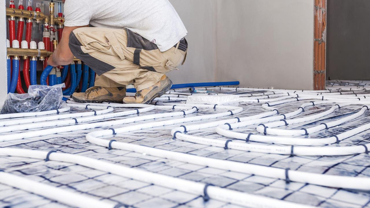 Underfloor heating is the rising star this heating season image