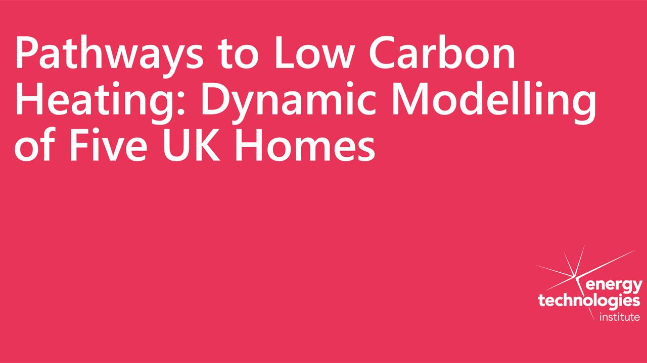 New data-driven tool launched to model efficient low carbon heating solutions image