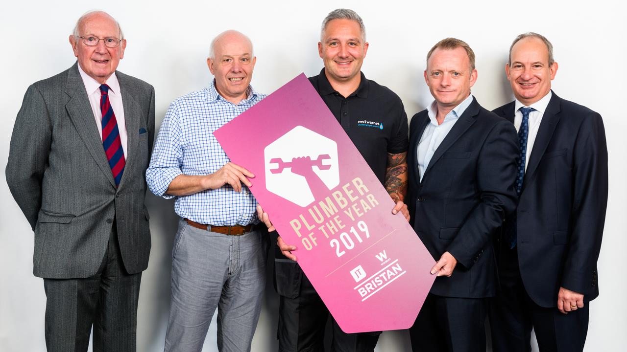 Martin Warnes crowned UK Plumber of the Year 2019 image