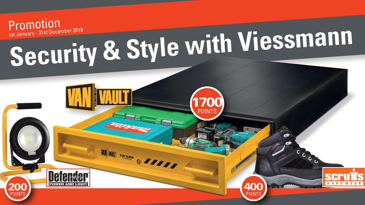 New Viessmann installer promotion offers free van security products  image