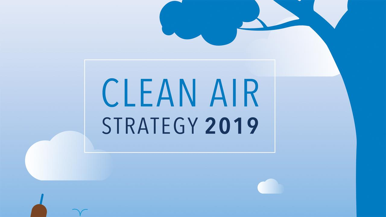 Government launches new clean air strategy image