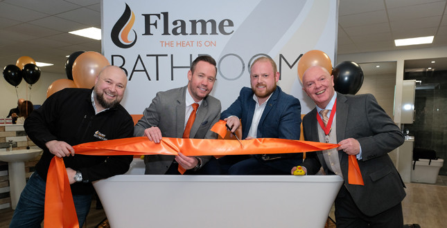 Flame Heating Group launches 'Virtual Reality' Showroom image