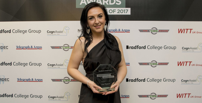 Bradford College Group names its Apprentice of the Year image