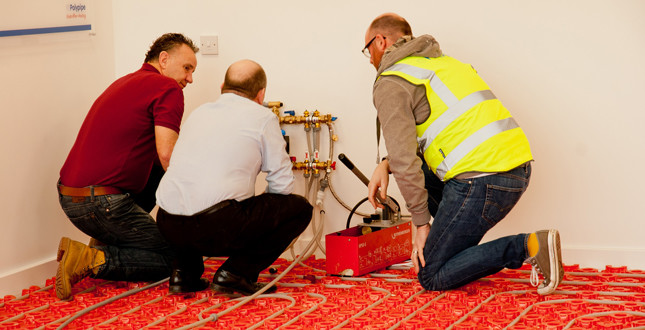 Plumbase and Polypipe team up for BPEC-accredited UFH training course image