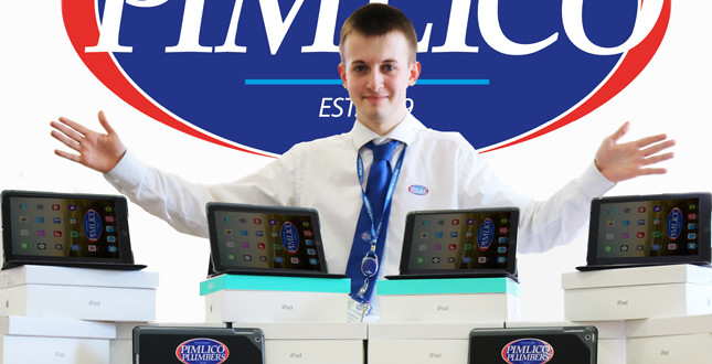 Pimlico Plumbers £100,000 investment arms engineers with iPads  image
