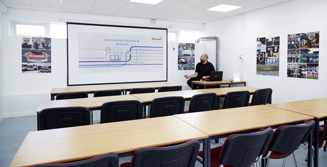 Rinnai dates new training courses image