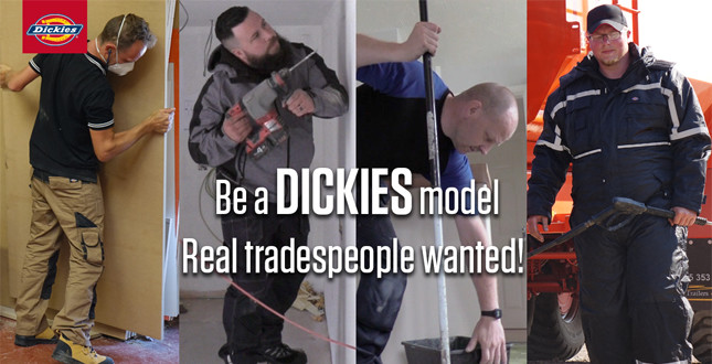 Dickies launches search for workwear models image