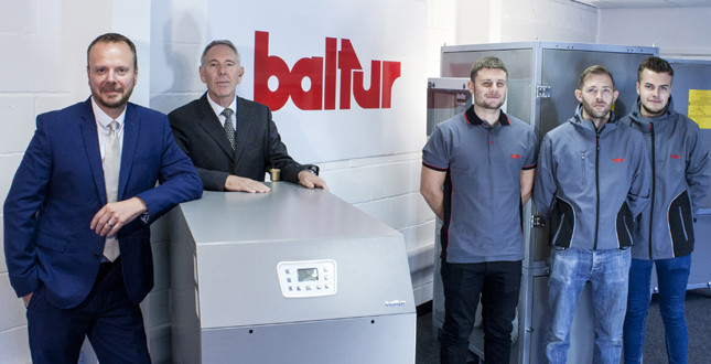 Baltur launches in the UK image